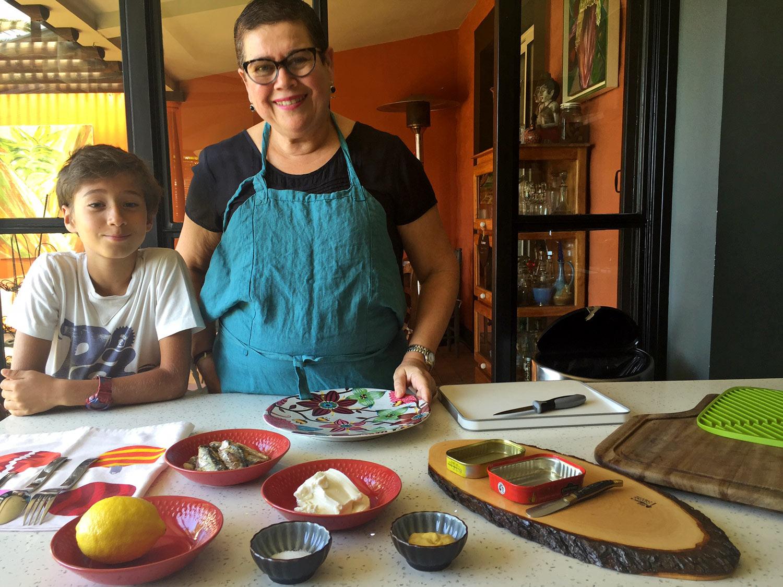 Brigitte Grondin - recette Mousse de sardines - Bycoco