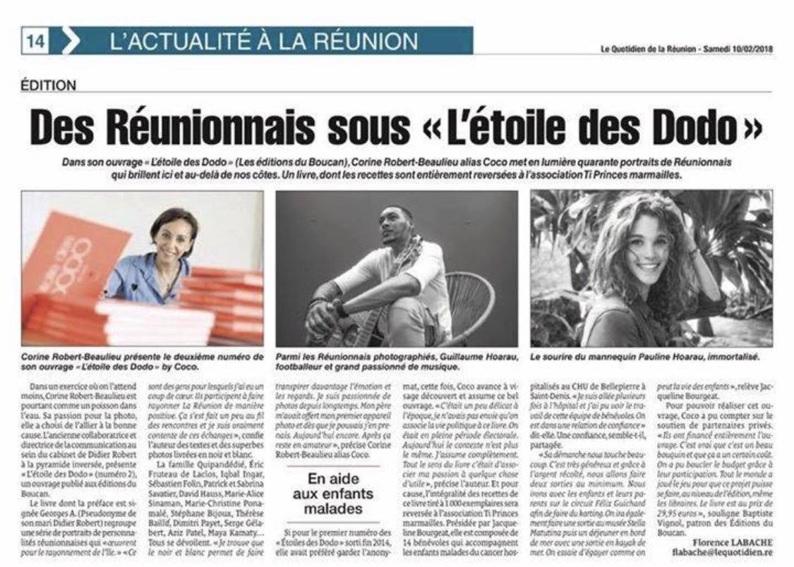 """Des Réunionnais sous """"l'étoile des Dodo"""""""